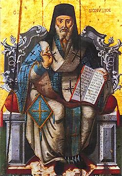 St Dionysios Zakynthian Hagiography - Άγιος Διονύσιος Ζακυνθινή Αγιογραφία